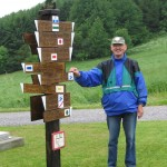 Wanderwegewart des HuK Uwe Schimpf Opa Eule