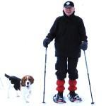 Wegewart mit Franz, seinem Hund