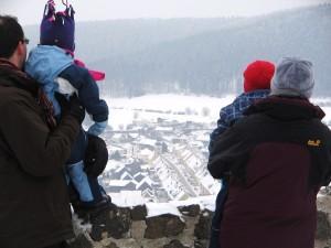 Schneebedeckte Landschaft - Waldeck