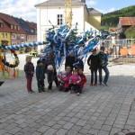 Maibaumklau in Waldeck