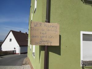 Maibaumdiebstahl HuK Waldeck