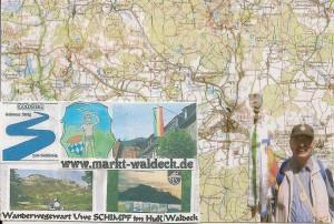 HuK Wanderwege-Netz